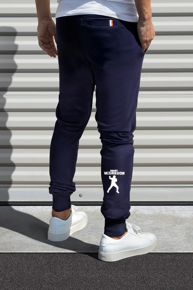 AM X PRPS Jogger Sweatpants in Navy