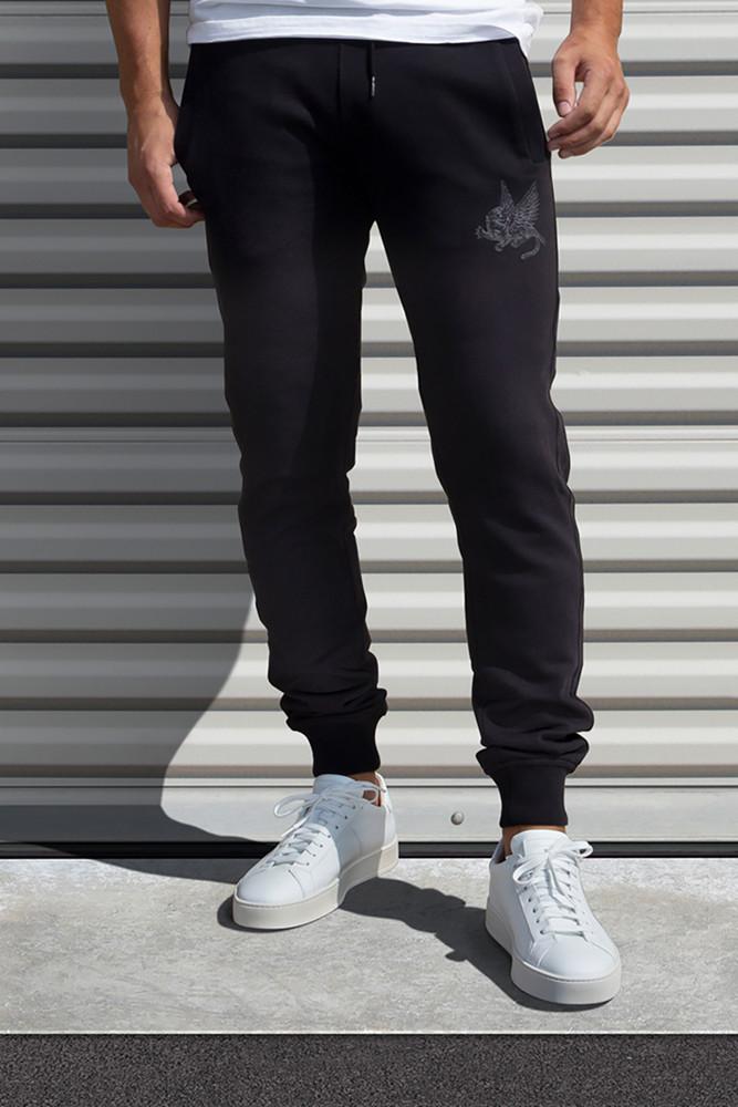 AM X PRPS Jogger Sweatpants in Black