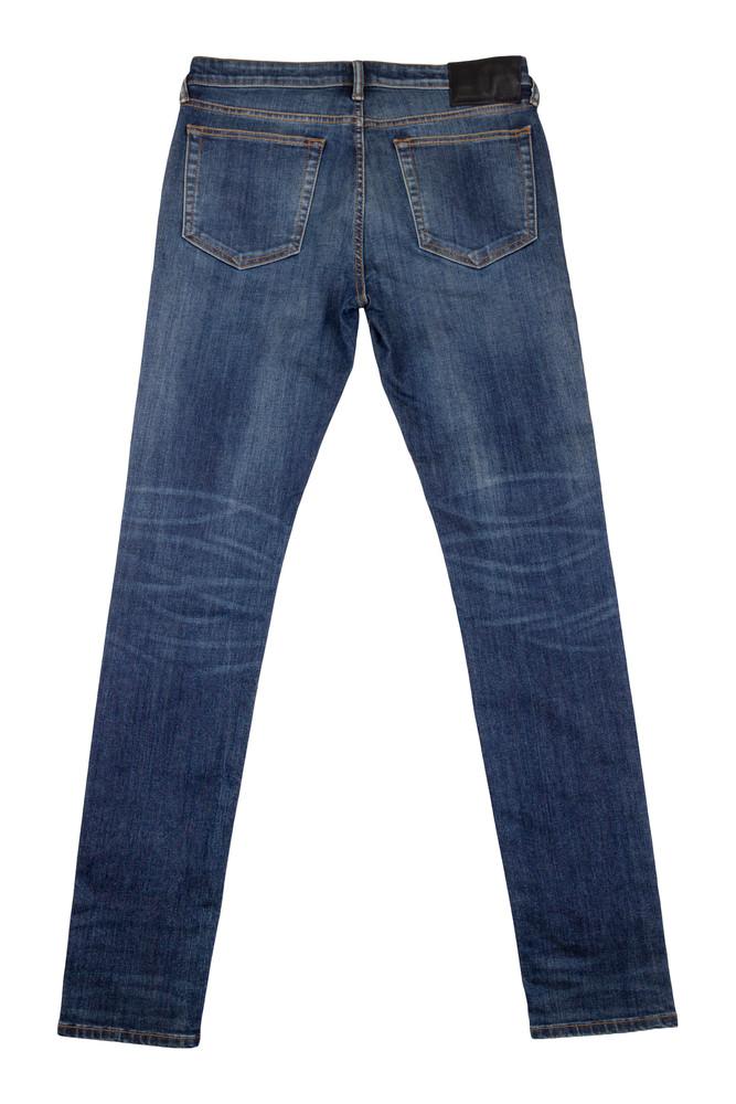 AM X PRPS Premium Denim Jeans in Blue Wash