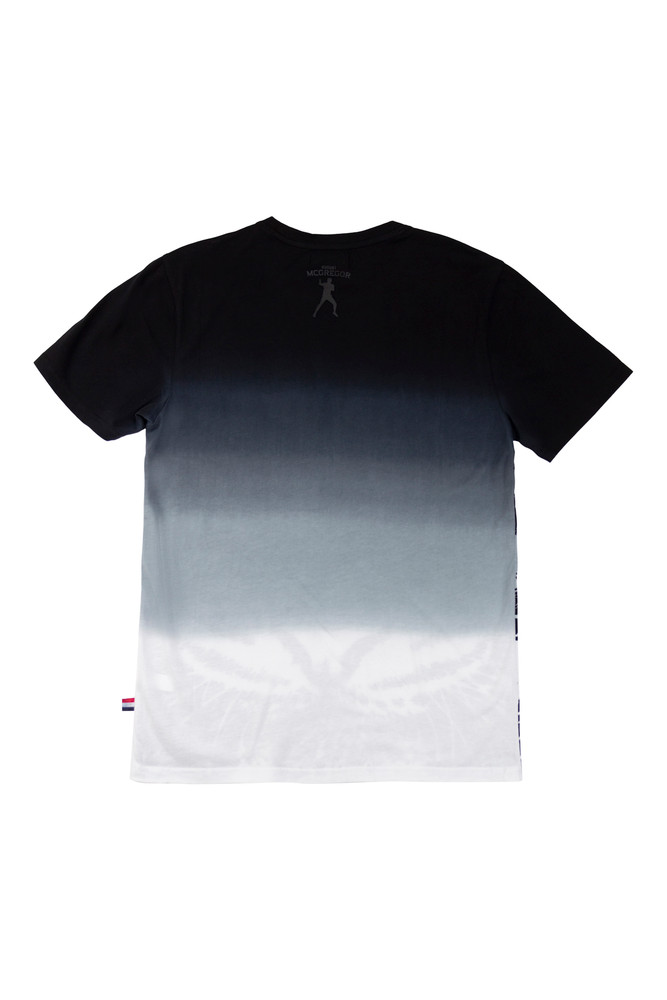 AM X PRPS Ombre Tiger T-Shirt in Black