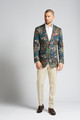 August McGregor Slim-Fit Stretch Cotton Jacket in Crystal Cove Navy Bloom