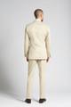 Slim-fit Cotton Chino 2-Piece Suit in Khaki