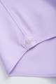 August McGregor Button-Front Dress Shirt in Lavender with convertible cuffs