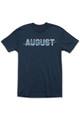 August McGregor Blue Flocking T-Shirt