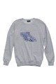 August McGregor Tropical Gorilla Embroidered French Terry Sweatshirt