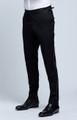 August McGregor Black Tuxedo Trousers