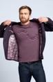 August McGregor Pocket T-Shirt in Faded Plum