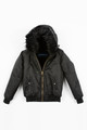 August McGregor x Bobbi Parka Limited Edition Hooded Bomber Jacket