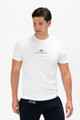 August McGregor I AM CONFIDENT t-shirt in white