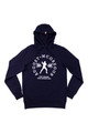 AM X PRPS Fighter Hooded Sweatshirt in Navy