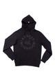 AM X PRPS Tonal AM Flying Tiger Hooded Sweatshirt in Black