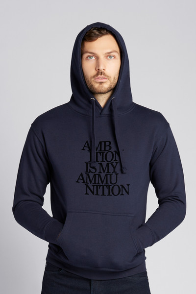 August McGregor Ambition Hooded Sweatshirt in Dark Navy