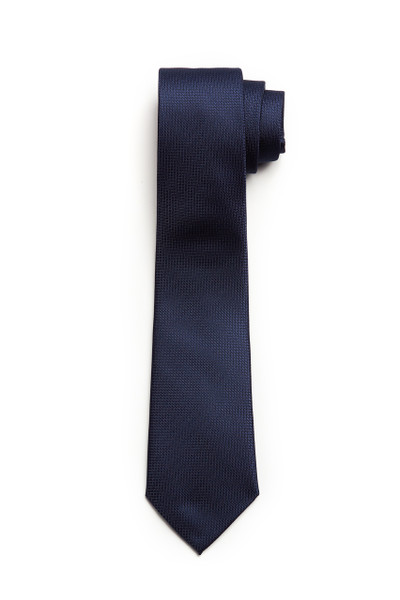 August Mcgregor  Navy Textured Tie