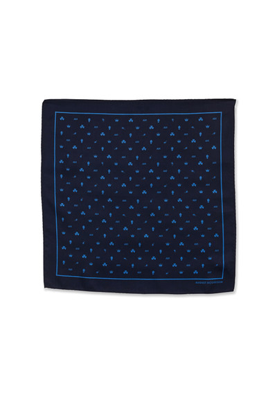 August McGregor Icon Silk Pocket Square