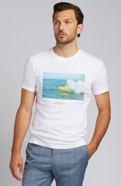 August McGregor Jet Skiing Conor T-Shirt
