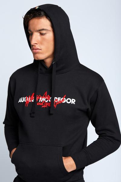 August McGregor Whoop Ass Hooded Sweatshirt in Black