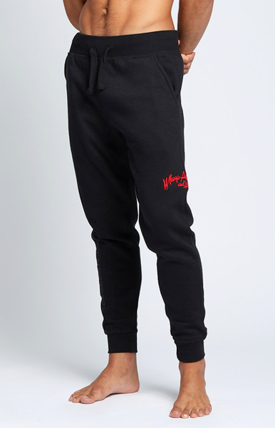 August McGregor Whoop Ass Jogger Sweatpants in Black