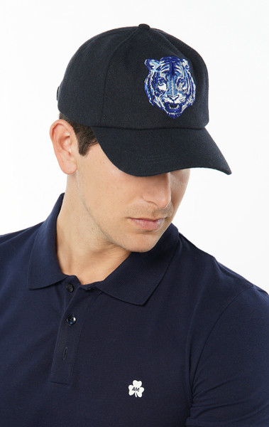 August McGregor wool-blend Dublin Tiger embroidered patch baseball cap