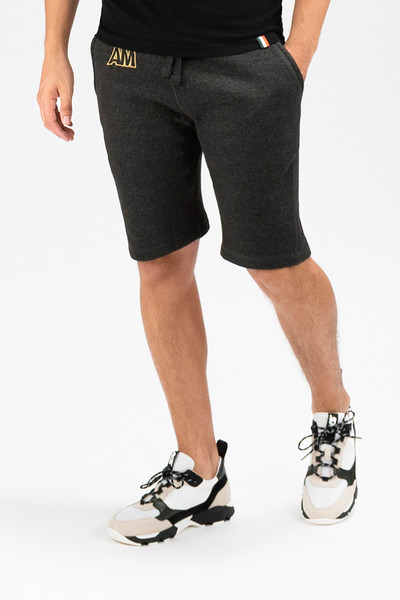 August McGregor AM Sweatshorts in Charcoal Grey
