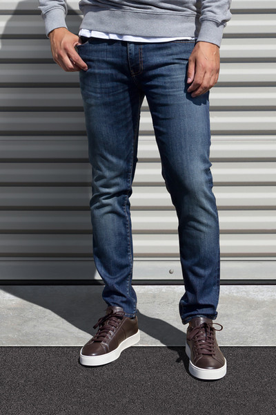 AM X PRPS Premium Denim Jeans in Blue Wash