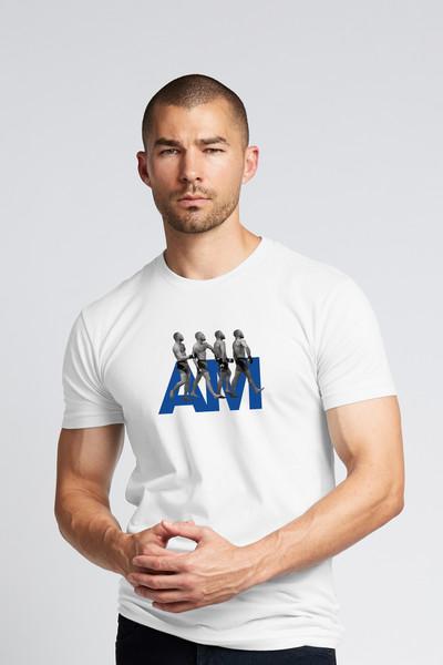 August McGregor Conor McGregor Billionaire Strut Crewneck T-Shirt in White