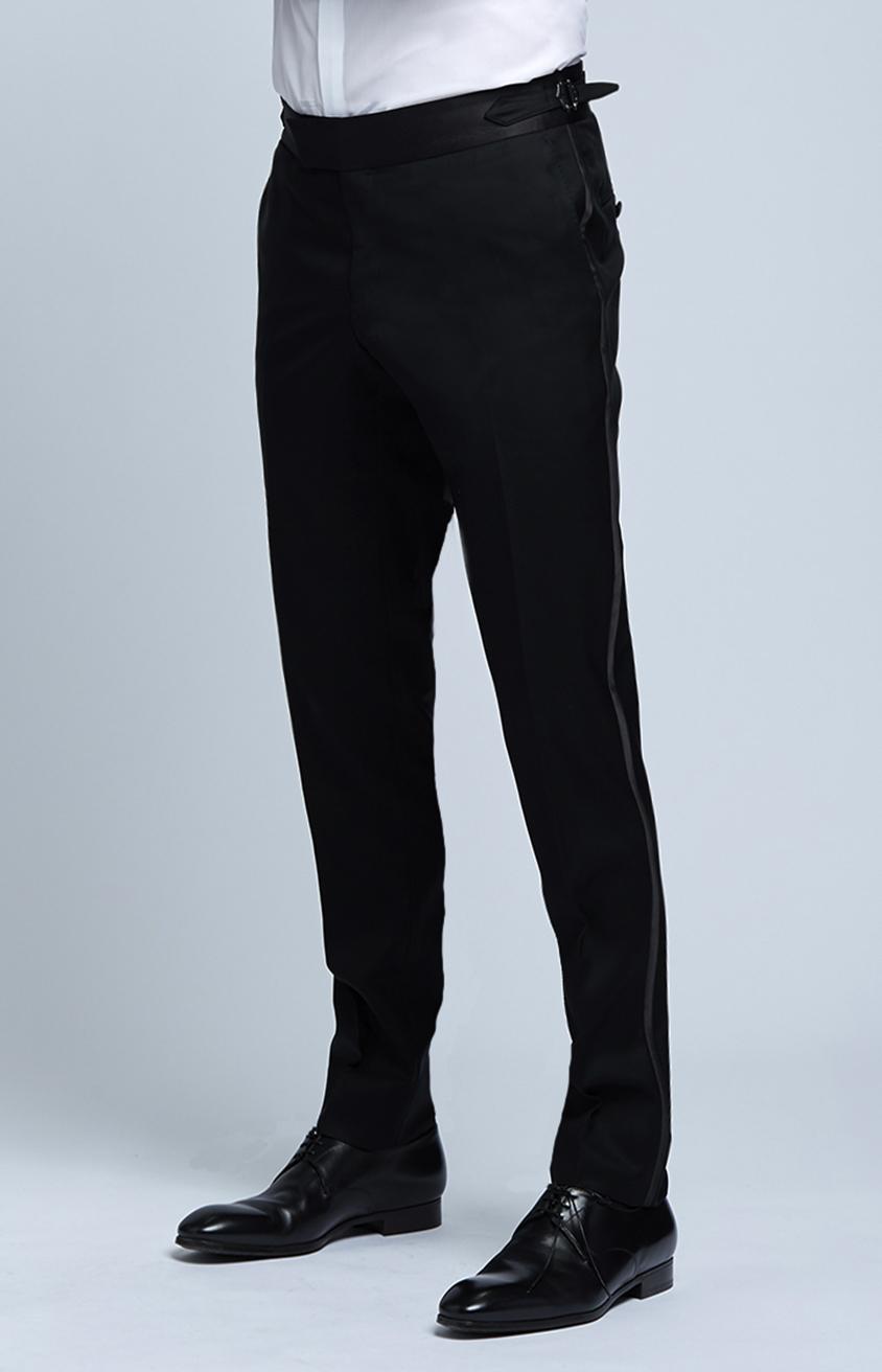 Black Tuxedo Trousers