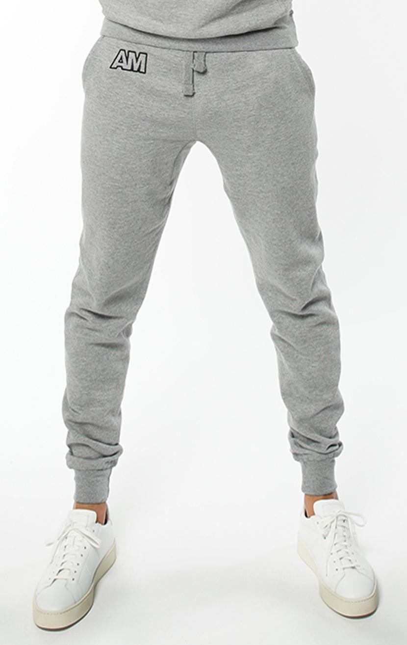 AM Jogger Sweatpants in Carbon Grey