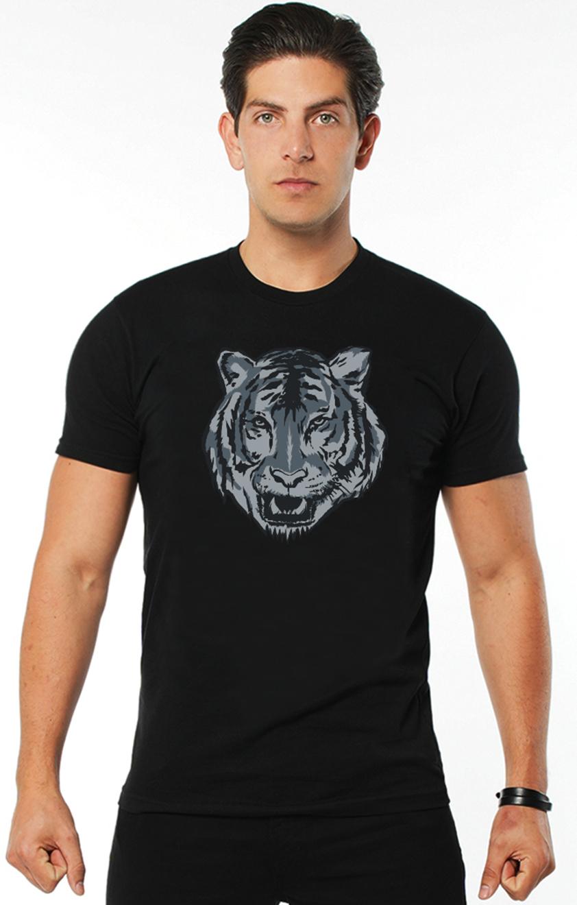 Dublin Tiger T-Shirt in Black