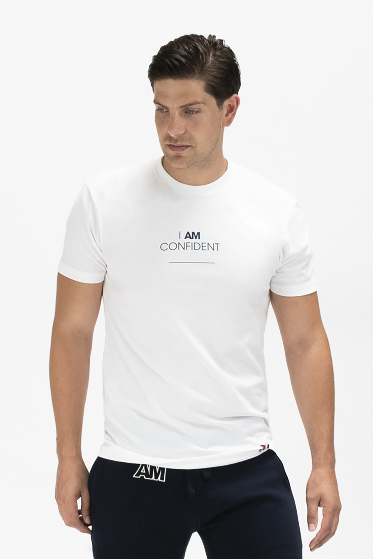 I AM CONFIDENT T-shirt in White