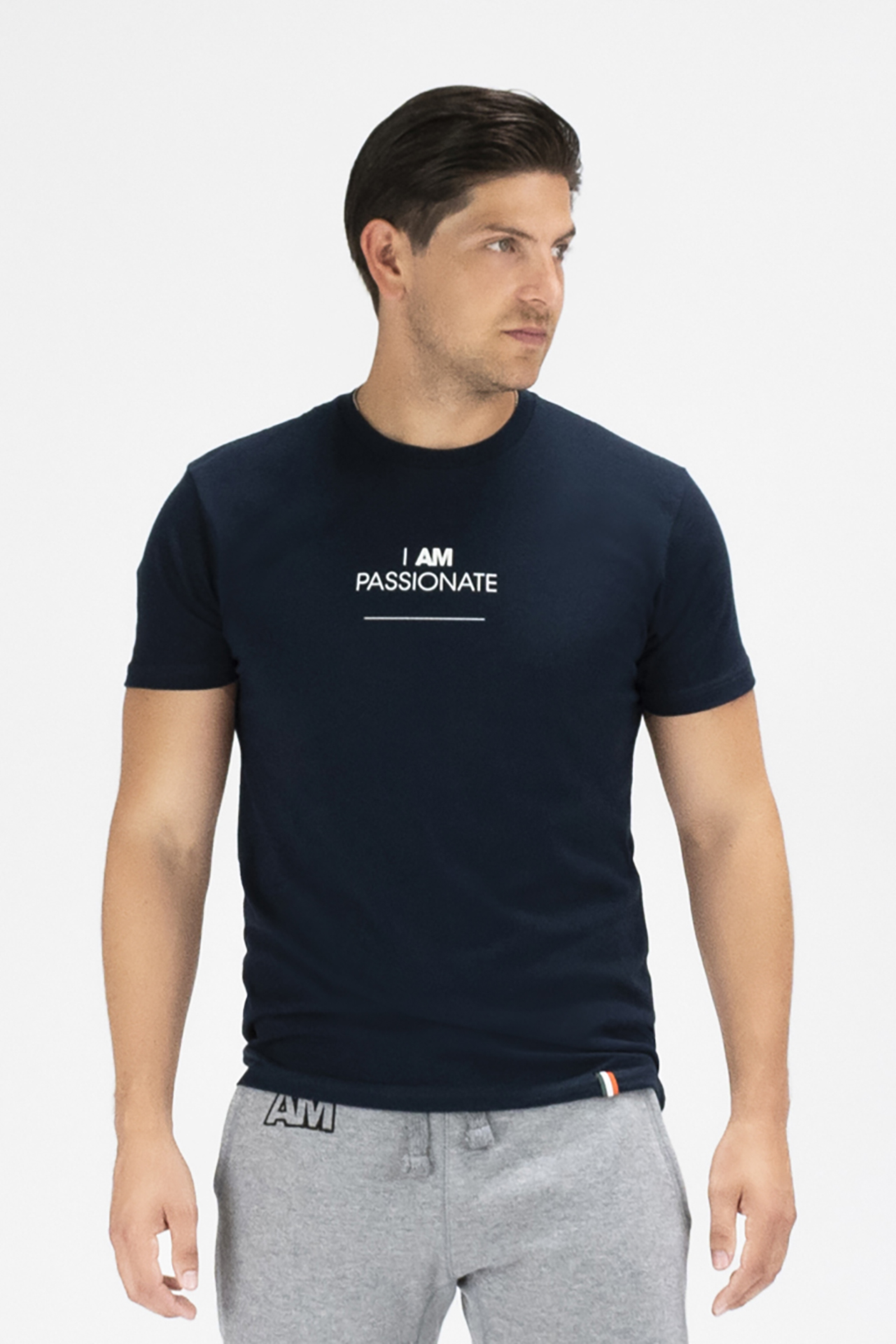 I AM PASSIONATE T-shirt in Navy
