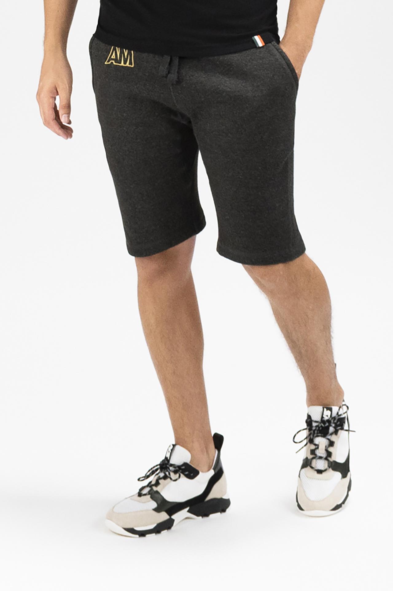 AM Sweatshorts in Charcoal Grey