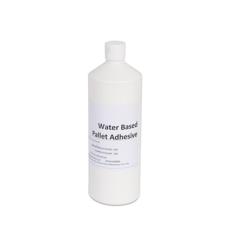 Water Based Pallet Adhesive from SPW