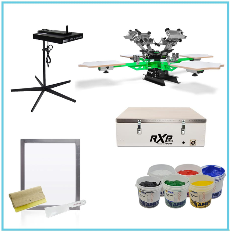 Econo Screen Printing Package- 4 Colour