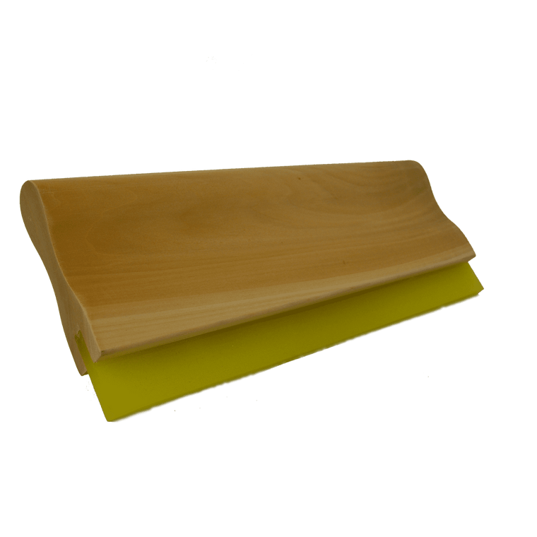 Wooden Screen Printing Squeegee