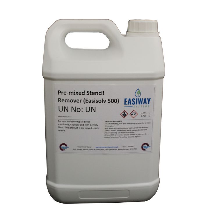 Ready Mixed Easisolv Stencil Remover