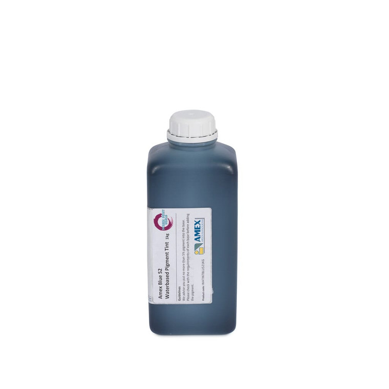 Amex Blue 52 Waterbased Pigment Tint