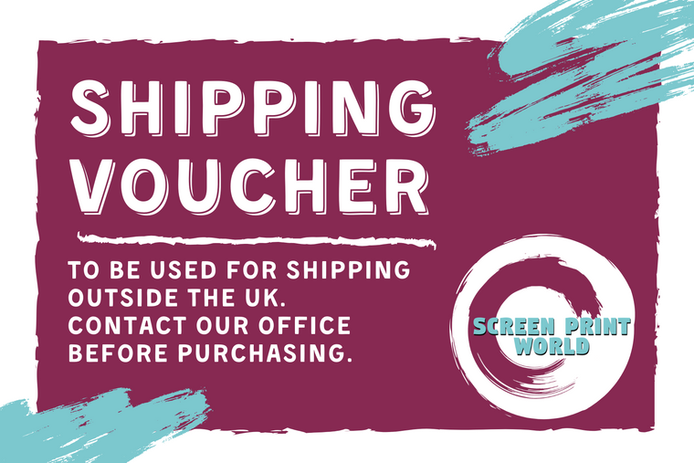 Shipping Vouchers for Outside the UK.