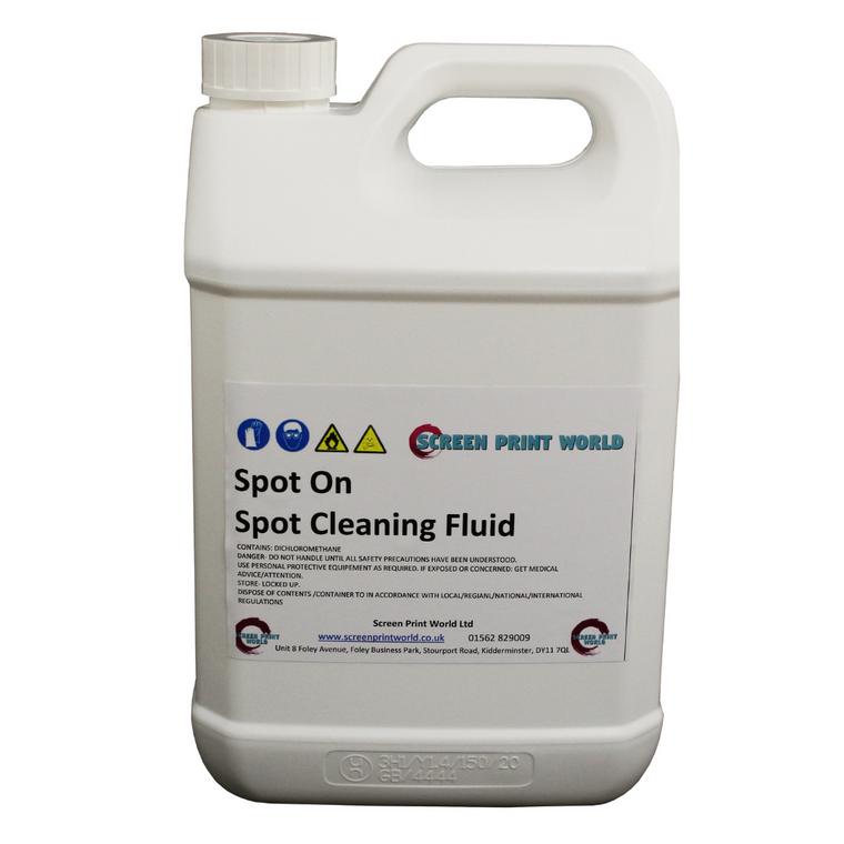 Spot On Spot Cleaning Fluid 5L