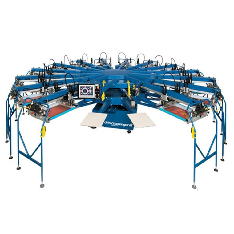 M&R Challenger III Automatic Screen Printing Press