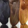 Color comparison from left to right: 2 Darkest Brown, 2/30 Darkest Brown/Auburn Mix, 30 Light Auburn