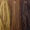 Color comparison from left to right: 27 Strawberry Blond, 30 Light Auburn, 33 Dark Auburn