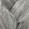 Color swatch for Kanekalon Jumbo Braid, 51 Grey (RastAfri Classic)