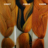 Color comparison from left to right: GSRB27 Pumpkin Mix, GSRB1B Dark Autumn Mix, and GSRB39 Autumn Mix