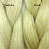 Color comparison from left to right: Vanilla Ice, Blond