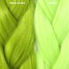 Color comparison from left to right: Moss Green, Mojito