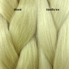 Color comparison from left to right: Blond, Vanilla Ice