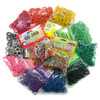Beauty Town Rubber Bands, Assorted Colors