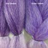 Color comparison from left to right: Lilac Ombré, Violet Ombré
