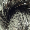 Color swatch for Gunmetal tinsel braiding hair