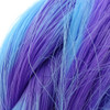 Color swatch for Deep Purple thermal color change hair extensions